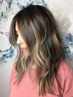 Different Shade Light Brown Hair Color Ideas for Medium Length Hairstyles 2018