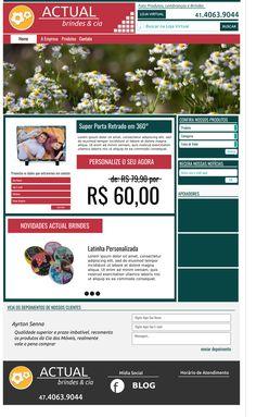 PROPOSTA - Prévia 1 - Site Institucional