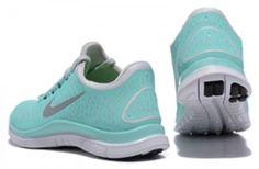 7ff7737bacf3 Tiffany Blue Nike Free 3.0 V4 Womens Blue White Silver 511495 300 Nike Shoes  Cheap