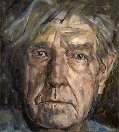 """Saatchi Art Artist Alexander Ilichev; Painting, """"Portrait. CAGE"""" #art"""