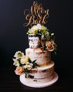 Colors are great, but a rustic style Cake Topper can sometimes fit the theme even better!