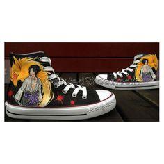 8bfb395fecc1e Anime Shoes Naruto Shoes Custom Hand Painted Shoes