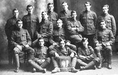 Newfoundland Regiment Soldiers (1915). #ww1