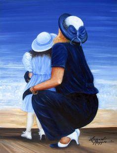 Mother and Daughter - Leonardo Ruggieri