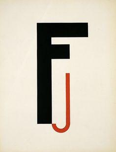 Walter Dexel, Composition F-J, 1925