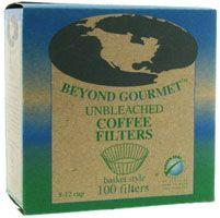 Beyond Gourmet Unbleached Basket-Style Coffee Filters