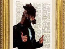 Cavallo illustrazione, stampa, pagina dizionario