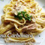 Tuna Carbonara Supreme