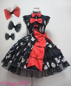 Angelic Pretty Lady Cocoa Dress Set