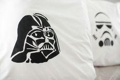 Star Wars Pillow Cases #starwars #pillowcase #diyproject