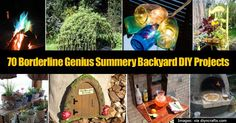 The backyard can be a fun, relaxing place to entertain, hang out and destress. This post shares many projects you can do to your backyard to get the most out of the summer season. The post covers a fairly extensive large variety of projects. You'll find details on: How to make your... #spr #sum