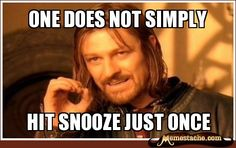 Oh Boromir, how right you are