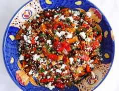 Roast Butternut, Red Onion and Chickpea Salad: http://www.thecookingcoach.eu/?p=3844