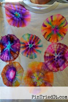 Sharpie marker tie dye tshirts with alcohol