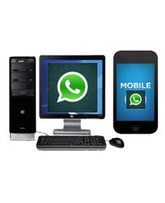 We all know that we can't access two whats app account using single number, here we can use whats app account simultaneously on your PC and android device with single mobile number.