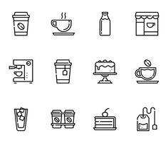 Coffee cup Icons - 874 free vector icons