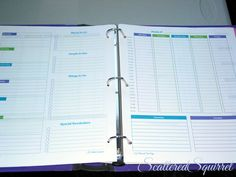personal planner, agenda, time managment