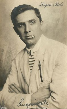 Bela Lugosi...wow...whoever knew he was good looking? I only saw him as a monster in the movies.