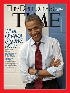 President Obama on the cover of Time... September 10, 2012