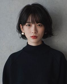 Asian Short Hair, Girl Short Hair, Short Hair Cuts, Japanese Short Hair, Cut My Hair, Love Hair, New Hair, 30s Hairstyles, Short Bob Hairstyles