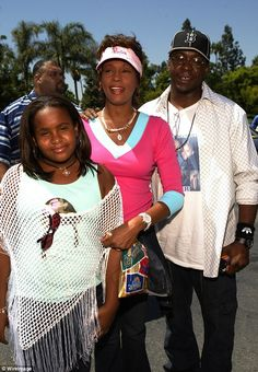 Happier times: Bobbi Kristina is the My Prerogative hitmaker's only child with his late ex...
