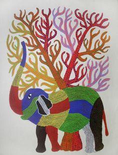 Gond 01,Artist-Bhajju shyam