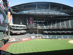 Chase Field  Phoenix, AZ.  Home of the Diamondbacks.