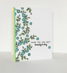 https://flic.kr/p/AR2KcJ | The Most Beautiful Day | . . . and the stamp set is also called Beautiful Day. So fun to color these little leaves and flowers!