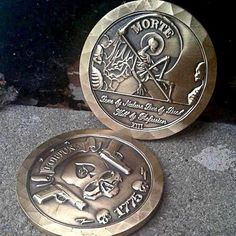 """""""Fortune Teller"""" Challenge Coin – ZERO FOXTROT Challenge Coins, Fortune Teller, Military"""