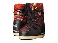 Tecnica Moon Boot(r) - Star Wars(r) Classic Junior Fire (Toddler/Little Kid/Big Kid) Work Boots Black/Red