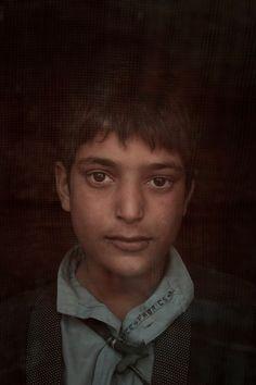 Mateen 15 years by Rada-Akbar In refugee camp in Kabul