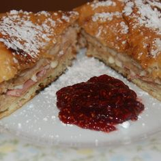 Bennigan's Monte Cristo Sandwich - This looks like the most promising copycat recipe for Monte Cristos I've seen!  |  JustAPinch.com
