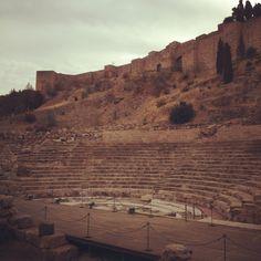 Describe tu pin...Malaga. Teatro romano