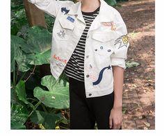 L301 Wholesale Fashion Clothing 2017 Women Denim Jacket Fall And Winter Wash White Embroidered Short Loose Jean Coats Plus Size - Buy Women Denim Jacket,Women Plus Size Winter Coats,Jeans New Designs Photos Product on Alibaba.com