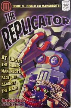 great graphic poster for the replicator