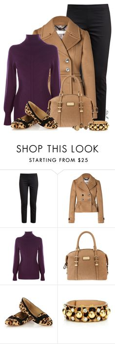 """Leopard Loafers"" by mz-happy ❤ liked on Polyvore featuring The Row, Burberry, Oasis, Armani Exchange, Juicy Couture and Marc by Marc Jacobs"