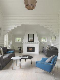 Nye designtraditioner i det gamle bjælkehus - BO BEDRE