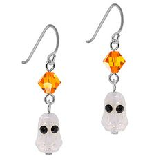 A Haunting We Will Go Earrings
