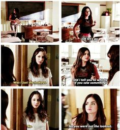 Lucy Hale (Aria Montgomery) & Troian Bellisario (Spencer Hastings) - Pretty Little Liars