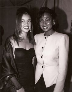 Former Black Miss Americas Vanessa Williams (1984) & Majorie Vincent (1991)