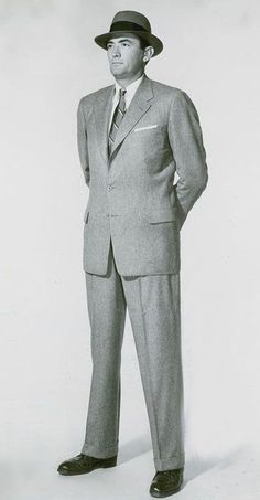 early 1950's mens suits - Google Search