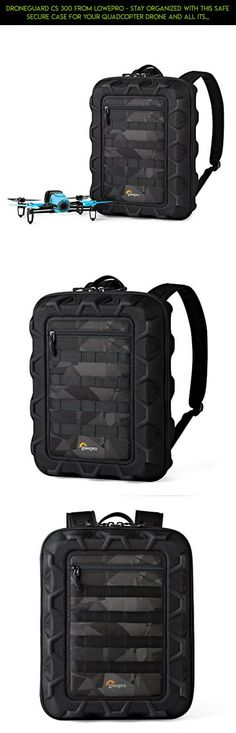 DroneGuard CS 300 From Lowepro - Stay Organized With This Safe Secure Case For Your Quadcopter Drone and All Its Essentials #kit #plans #technology #products #camera #gadgets #racing #fpv #tech #shopping #backpack #parts #drone #3dr