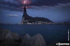 Gibraltar vista por los españoles.