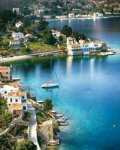 Simi island, Greece