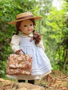 Anne of Green Gables Doll Outfit  American by RainbowLilyDesigns