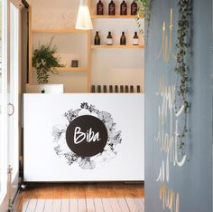 An oak Infinity and a collection of customised bone china lights illuminate hair salon and yoga studio Biba in Auckland's Birkenhead Point. China Lights, Auckland, Bone China, Light Up, Salons, Infinity, Yoga, Studio, Projects