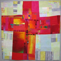red cross by Melody Johnson Quilts, via Flickr