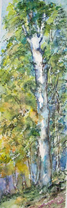 watercolor 7x20cm by M.Cristina De Amicis