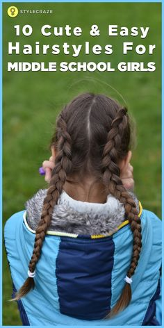 we have picked up ten cute hairstyles for middle school girls to try at home. So, read ahead and give them a try, lassies!