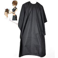2016 стрижки волос мыс Pro салон парикмахерских парикмахерские платье парикмахерская сплошной черный 9XWE